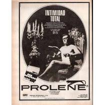 Antigua Publicidad Prolene Ropa Intima - 0045