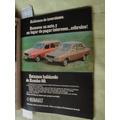 Publicidad Renault 12 Renault 12 Break Año 1978