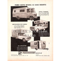 Publicidad Antigua Casa Rodante Tecnocar