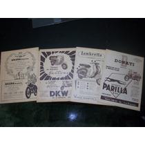 Propagandas Antiguas - Motos, Bicis, Deportes 1940 / 50 / 60