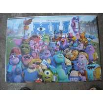 Imperdible Poster Original Pelicula Monster Inc University