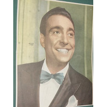 Television Poster Antiguo Hector Coire Actor Cine Tv