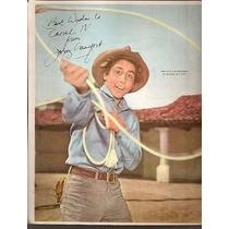 Poster Canal Tv - El Hombre Del Rifle -johnny Crawford (001)