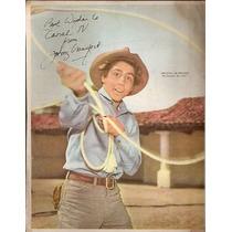 Poster Canal Tv- El Hombre Del Rifle -johnny Crawford (177)