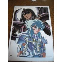 Imperdible Poster Original Anime Caballeros Del Zodiaco # 5