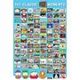Poster De South Park - 101 Momentos Clasicos - 90 X 60 Cm