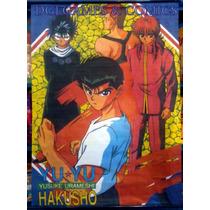 Poster De Tela Yu-yu Hakusho Nuevo 1,00 Mts X 0;75 Mts