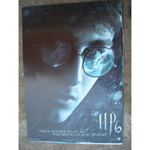 Imperdible Poster Original De La Pelicula Harry Potter 6