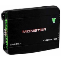 Potencia Monster M 250.4 1000 Watts 4 Canales Local Belgrano