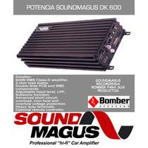 Potencia Sound Magus Dk600 600rms Monoblock