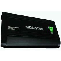 Potencia Monster Mi 750 D 1600 W - 750w Rms Monoblock