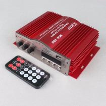 Amplificador Teli Ma 100 20w X 2 Fm Usb Aux Control Remoto