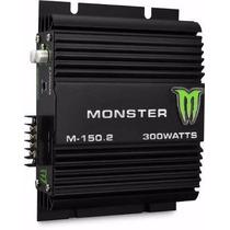 Potencia / Amplificador Monster 300 Watts 2 Canales M-150