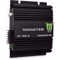 Potencia Monster M 150.2 300 Watts Ideal Drivers O 6x9