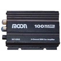 Potencia Amplificador Moto Auto 12v 200w Pmpo Moon M1050 Cjf