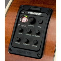 Fishman Presys Blend 301 Doble Micrófono Afinador Led!