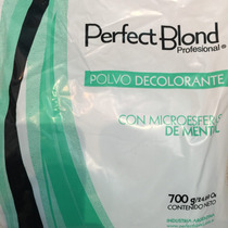 Polvo Decolorante Perfect Blond Esfera De Mentol 700g Prof.
