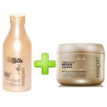Combo Shampoo+mascara Capilar Absolut Repair Loreal