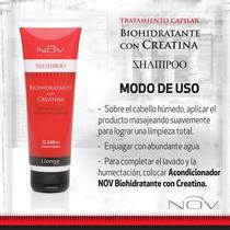 Shampoo O Acondicionador Biohidratante Con Creatina Nov