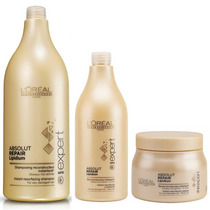 Shampoo + Acondicionador + Mascara Loreal Absolut Repair