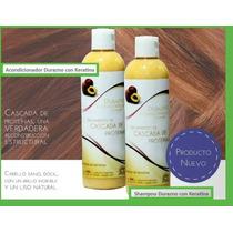 Shampoo Y Acondicionador Keratina Cascada De Proteínas