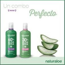 Naturaloe Shampoo Y Acondicionador Caida De Cabello