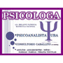 Psicologa Lic.melatti Patricia Psicoanalista Caballito