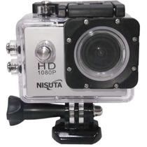 Camara Nisuta 1080p Full Hd Wifi Lcd P/agua Hdmi Go Pro Sony