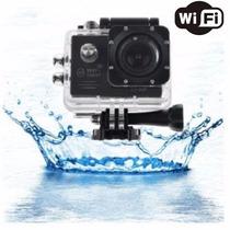 Camara Full Hd 1080p J4000 12mpx Wifi Sumergible Lcd Hdmi