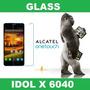 Film Glass Vidrio Alcatel Idol X 6040 Ciudadela Liniers