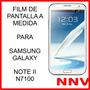 Film Protector De Pantalla Samsung Galaxy Note 2 Ll N7100