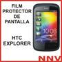 Film Protector De Pantalla Htc Explorer - Nnv