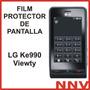 Film Protector De Pantalla Lg Ke990 Ku990 Viewty - Nnv