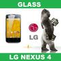 Glass Vidrio Templado Lg Nexus 4 Liniers Ciudadela
