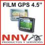 Film Protector De Pantalla Para Gps Garmin Nuvi Con Lcd 4.5