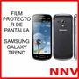 Film Protector De Pantalla Samsung Galaxy Trend S7560 S7390