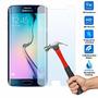 Lamina Film Vidrio Templado Antigolpe Samsung S6 Edge + Plus