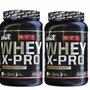 Combo 2 Whey X Pro X1 Kg Ena Proteinas Creatina L-glutamina