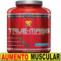 Rapido Crecimiento Muscular+ Fuerza Con True Mass Bsn 2.6 Kg