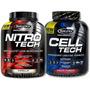 Nitrotech Elite! 4 Lb Proteina+creatina+oxido Nitrico+aminos