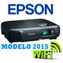 Proyector Epson S18+ 3000 Lum Usb Pendrive Directo Hdmi Wifi