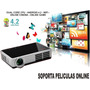 Proyector Mini Led 4500 Lumens 1080p 4k 3d Wifi Android Usb