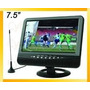 Tv Portatil 7,5 Pulgadas - Pal/ntsc/secam - Usb /sd/mmc