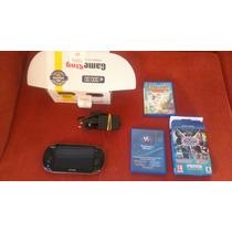 Ps Vita New Refurbished 8gb Mega Action Pack + Rayman
