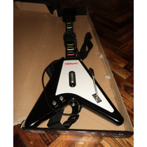 Guitarra Para Playstation 2 Hooligans Con Cable Flying V