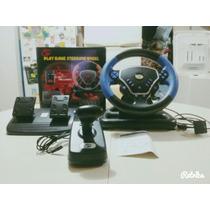 Volante Para Ps2 Steering Wheel