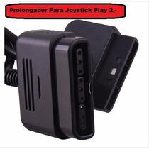 Cable Prolongador P/ Joystick Play 1 Y 2 En Caja.-