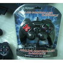 Control Joystick Byakko Con Cable Ps2 , Pc , Ps3, Ps1 , Psx