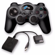 Joystick Noga Bluetooth 2.4ghz Ps2 Pc Vibra Quality Toys