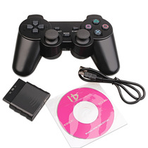 Joystick Inalambrico Bateria Recargable Para Sony Ps2 Ps3 Pc